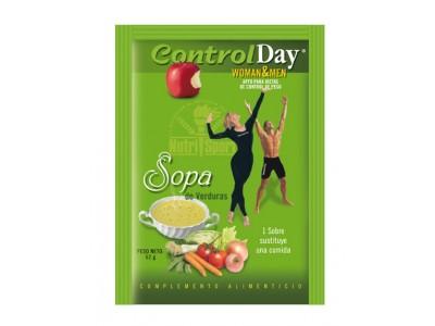 Nutrisport Controlday Sopa de Verduras 18 Sobres