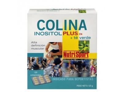 Nutrisport Colina Inositol Plus + Té Verde 120 Comprimidos
