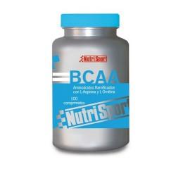Nutrisport Aminoácidos Ramificados 1g 100 Cápsulas