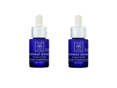 Apivita Natural Serum Hidratación 15ml 2 uds.