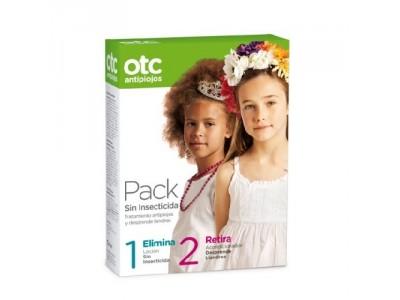 Otc Antipiojos Pack Sin Insecticida Loción 125ml + Acondicionador 125ml