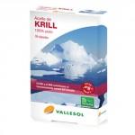 VALLESOL ACEITE DE KRILL 100% PURO 30 CAPSULAS