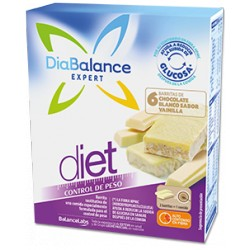 Diabalance Barritas Chocolate Blanco 6 uds.