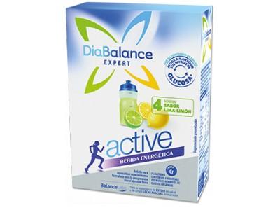 Diabalance Bebida Energetica Lima-Limon 4 Sobres