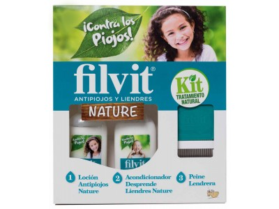 Filvit Nature Kit Loción + Acondicionador + Peine