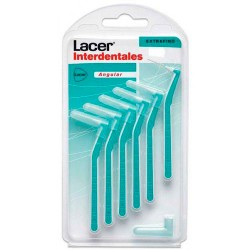 Lacer Pack Interdental Extrafino Angular 6 uds.