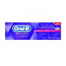 Oral-B 3D White Luxe Brillo Seductor Pasta 75ml