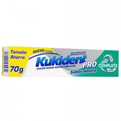 Kukident Complete Pro Crema Adhesiva S. Neutro 70g