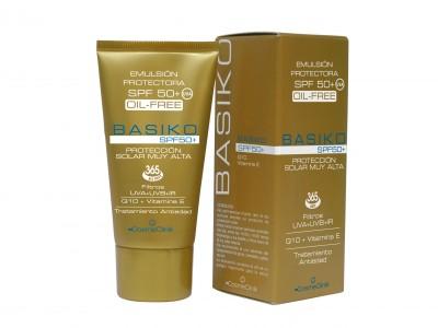 Cosmeclinick Basiko Emulsión Solar SPF50+ Oil Free 50ml
