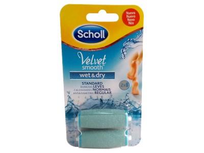 Scholl Velvet Smooth Recambio Lima Wet Dry 2 uds.