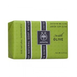 APIVITA MINI JABON NATURAL OLIVE 30 GR