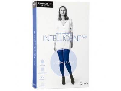Farmalastic Intelligent Plus Media Larga Talla 2 Color Antracita