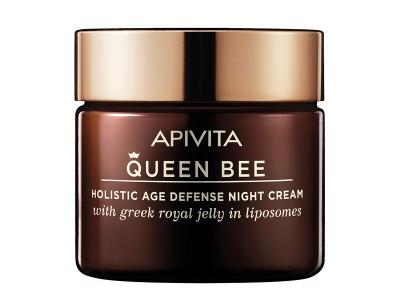 Apivita Queen Bee Crema Antienvejecimiento Holísitca de Noche 50ml