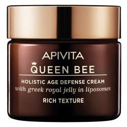 Apivita Queen Bee Crema Antienvejecimiento Holísitca de Textura Rica 50ml