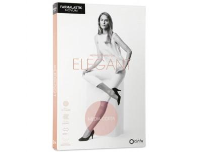 Farmalastic Elegant Media Corta Talla 2 Color Canela