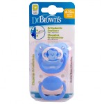 DR. BROWN´S CHUPETE ORTHODONTIC SILICONA 6-12 M 2 UNIDADES