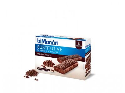Bimanan Barritas Chocolate Fondant 8 uds.