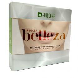Endocare Pack Gelcream + Gel Iluminador + Ampollas Antioxidantes Piel Normal y Grasa