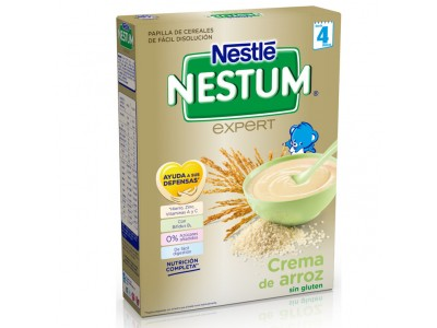 Nestlé Nestum Crema de Arroz Singluten 250g