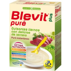 Blevit Plus Puré Guisantes con Ternera 280g