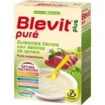 Blevit Plus puré guisantes con ternera 280 gramos