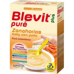 Blevit Puré Zanahorias Baby con Pollo 280g