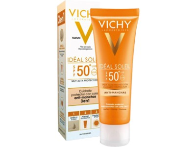 Vichy Idéal Soleil Antimanchas 3 en 1 SPF50 + 50ml