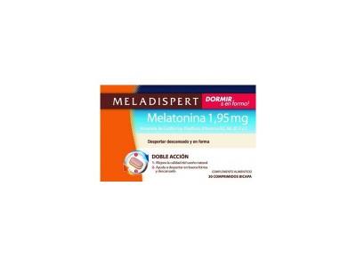 Meladispert Dormir + en Forma Melatonina 30 Comprimidos