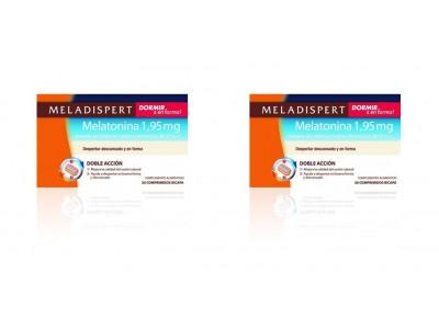 Meladispert Dormir + en Forma Melatonina 30 Comprimidos 2 uds.