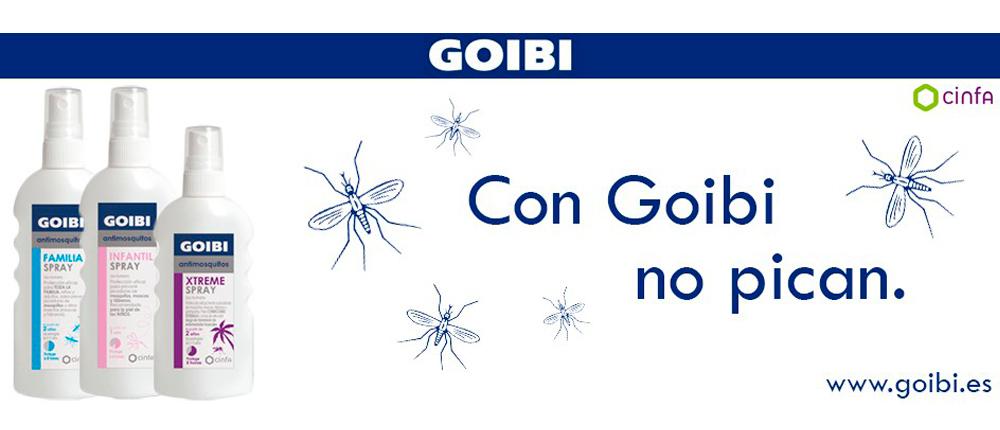 Adiós mosquitos con Goibi
