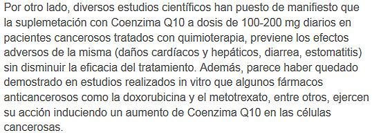 coenzimaq10 y el cancer2