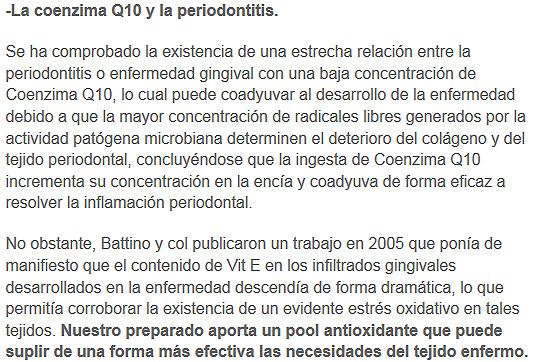 coenzimaq10 y la periodontitis